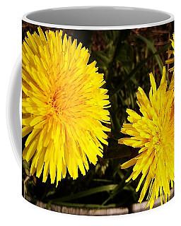 Dandelion Weeds? Coffee Mug by Martin Howard