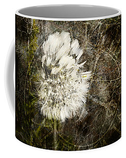 Coffee Mug featuring the photograph Dandelions Don't Care About The Time by Belinda Greb