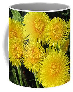 Golden Dandelions Coffee Mug