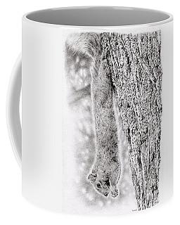 Dangling Squirrel Coffee Mug