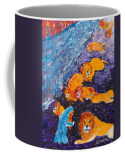 Daniel And The Lions Coffee Mug