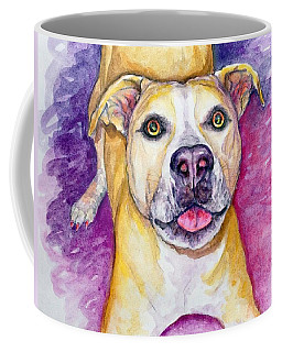 Coffee Mug featuring the painting Daphne by Ashley Kujan