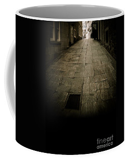 Dark Alley In Old Historic City Coffee Mug