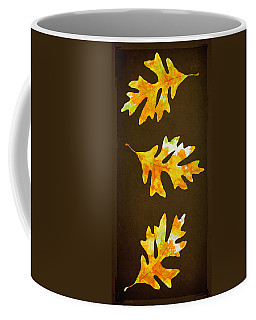 Autumn Oak Leaf Painting Coffee Mug