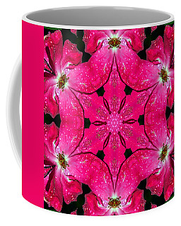 Dark Pink Splendor Mandala Coffee Mug