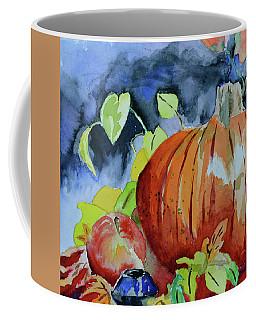 Coffee Mug featuring the painting Darkening by Beverley Harper Tinsley