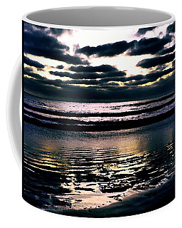 Darkness Can Only Be Scattered By Light Coffee Mug by Sharon Soberon