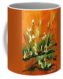 Coffee Mug featuring the painting Darlinettas by Holly Carmichael