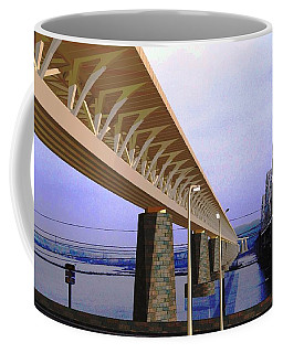 Darnitsky Bridge Coffee Mug