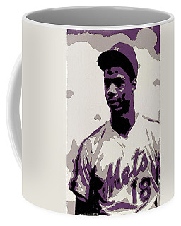 Darryl Strawberry Poster Art Coffee Mug