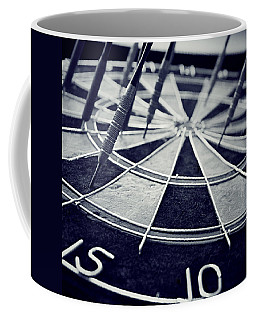 Darts Anyone Coffee Mug by Trish Mistric