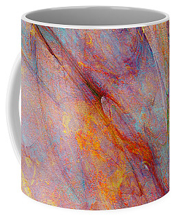 Dash Of Spring - Abstract Art Coffee Mug