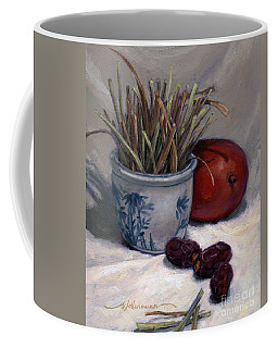Dates Lemongrass And Mango Coffee Mug
