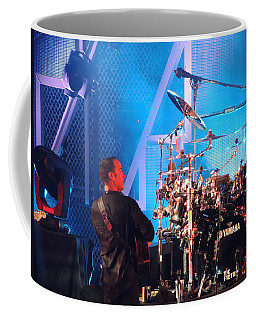 Coffee Mug featuring the photograph Dave Looks At Carter by Aaron Martens