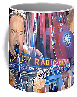 Dave Matthews And Tim Reynolds At Radio City Coffee Mug