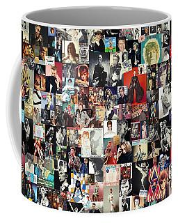 David Bowie Collage Coffee Mug