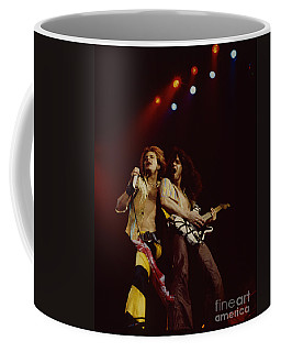 David Lee Roth And Eddie Van Halen - Van Halen- Oakland Coliseum 12-2-78   Coffee Mug