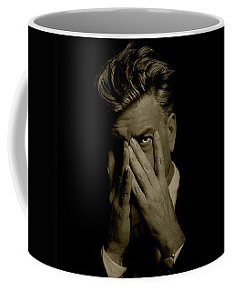 David Lynch Hands Coffee Mug