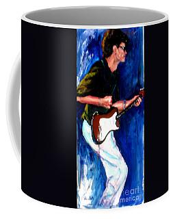 David On Guitar Coffee Mug