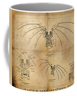 Davinci's Wings Coffee Mug by James Christopher Hill