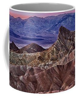Dawn At Zabriskie Point Coffee Mug by Jerry Fornarotto