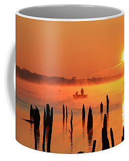 Dawn Fishing Coffee Mug