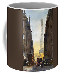Dawn In Paris Coffee Mug