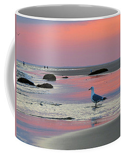 Coffee Mug featuring the photograph Dawn In Pink by Dianne Cowen