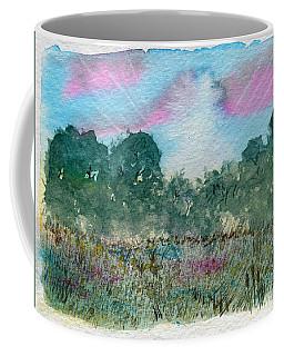 Dawn On The Marsh Coffee Mug