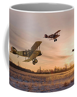 Dawn Patrol Coffee Mug by Pat Speirs