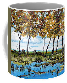 Dawn's Blue Waters Edge  Coffee Mug