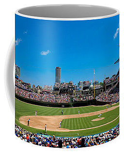 Day Game At Wrigley Field Coffee Mug