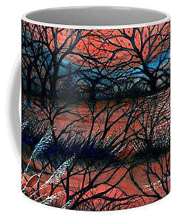 Day Is Done October Sky Coffee Mug by Janine Riley