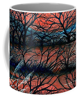 Day Is Done October Sky Coffee Mug