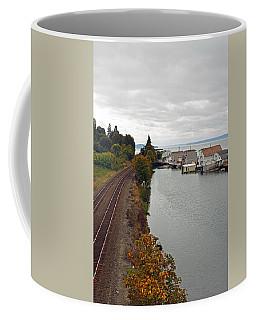 Day Island Bridge View 2 Coffee Mug