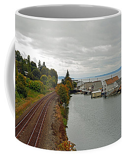 Day Island Bridge View 3 Coffee Mug