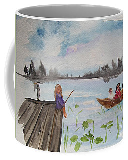 Day Of Fishing Coffee Mug