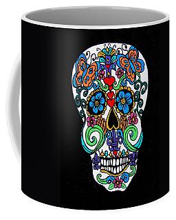 Day Of The Dead Skull Coffee Mug