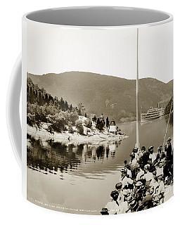 Dayliner At The Narrows In Sepia Tone Coffee Mug