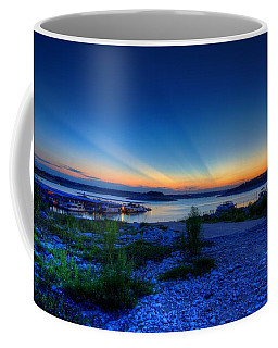 Coffee Mug featuring the photograph Days End by Dave Files