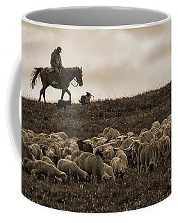 Days End Sheep Herding Coffee Mug