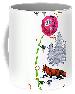 Coffee Mug featuring the drawing Days Inside Of Days by John Ashton Golden