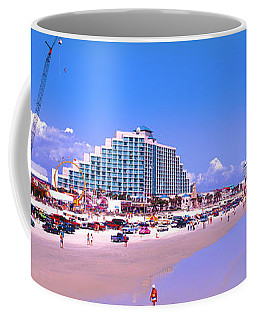 Daytona Main Street Pier And Beach  Coffee Mug
