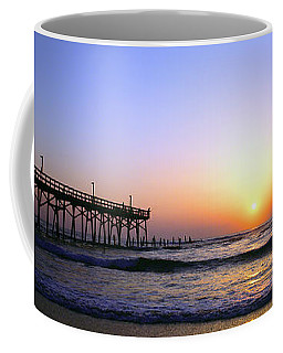 Daytona Sun Glow Pier  Coffee Mug