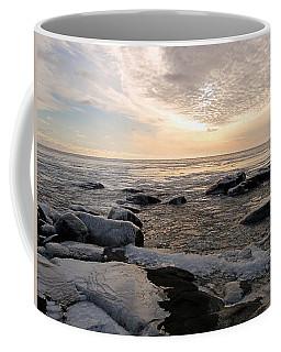 Dazzling Winter On Lake Superior Coffee Mug