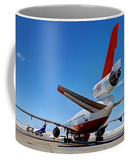 Coffee Mug featuring the photograph Dc-10 Air Tanker  by Bill Gabbert