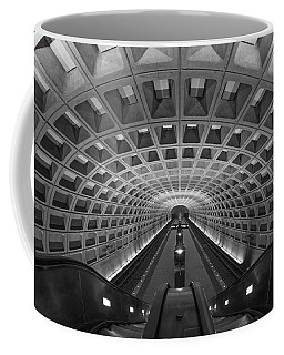 Coffee Mug featuring the photograph D.c. Subway by Dustin  LeFevre