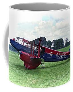 Coffee Mug featuring the photograph De Havilland Dragon Rapide by Paul Gulliver