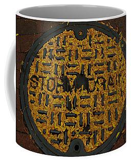 De Stijl Drain Coffee Mug