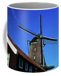 De Zoeker Blue Skies Coffee Mug by Jonah  Anderson